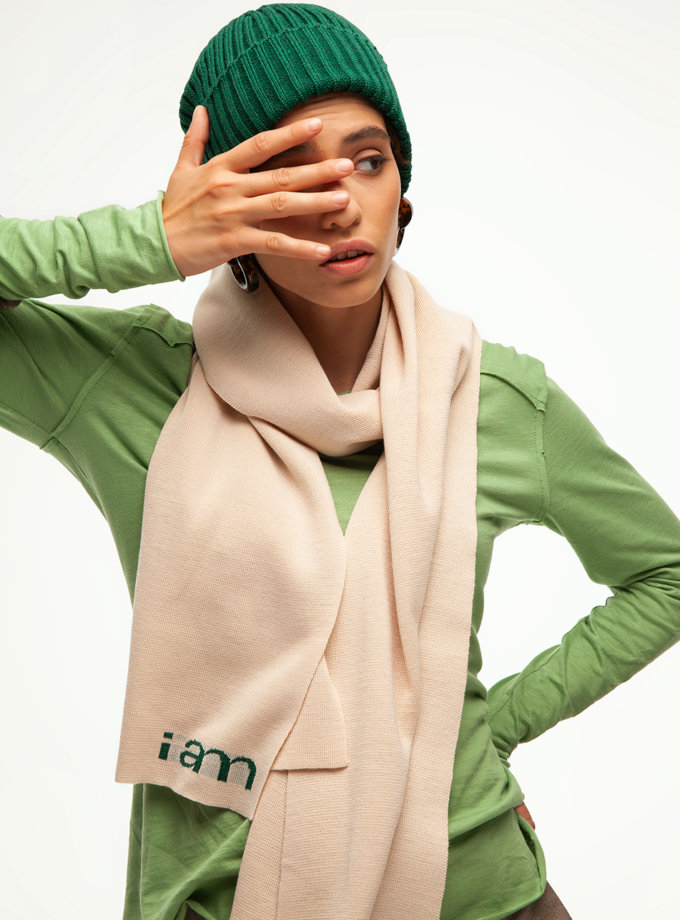 Шапка грубой вязки IAM_12mrn03, фото 1 - в интернет магазине KAPSULA