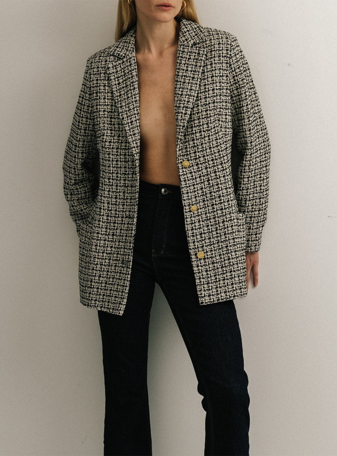 Жакет из хлопка NOMA_52021, фото 1 - в интернет магазине KAPSULA