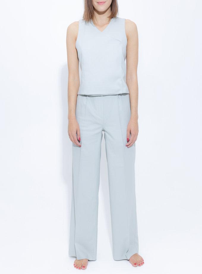 Широкие брюки из шерсти SLR_FW_22_10, фото 1 - в интернет магазине KAPSULA