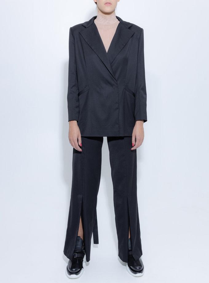 Широкі брюки з вовни SLR_FW_22_2, фото 1 - в интернет магазине KAPSULA