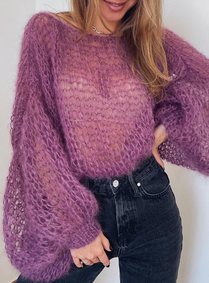 Объемный свитер из мохера WN_AIM-03, фото 1 - в интернет магазине KAPSULA