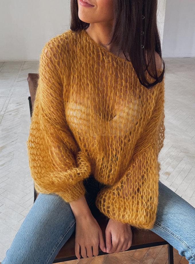 Об'ємний светр з мохеру WN_AIM-16, фото 1 - в интернет магазине KAPSULA