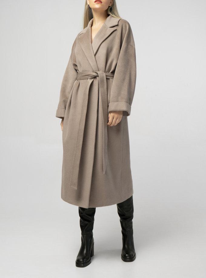 Об'ємне пальто з вовни BEAVR_BA_F21_101, фото 1 - в интернет магазине KAPSULA