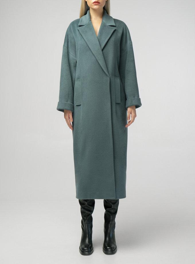 Об'ємне пальто з вовни BEAVR_BA_F21_102, фото 1 - в интернет магазине KAPSULA