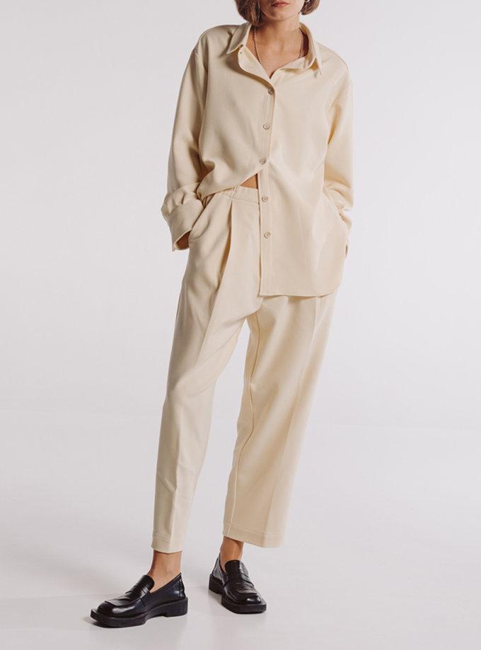 Комплект рубашка с брюками на резинке BLCGR_BLCN_859, фото 1 - в интернет магазине KAPSULA