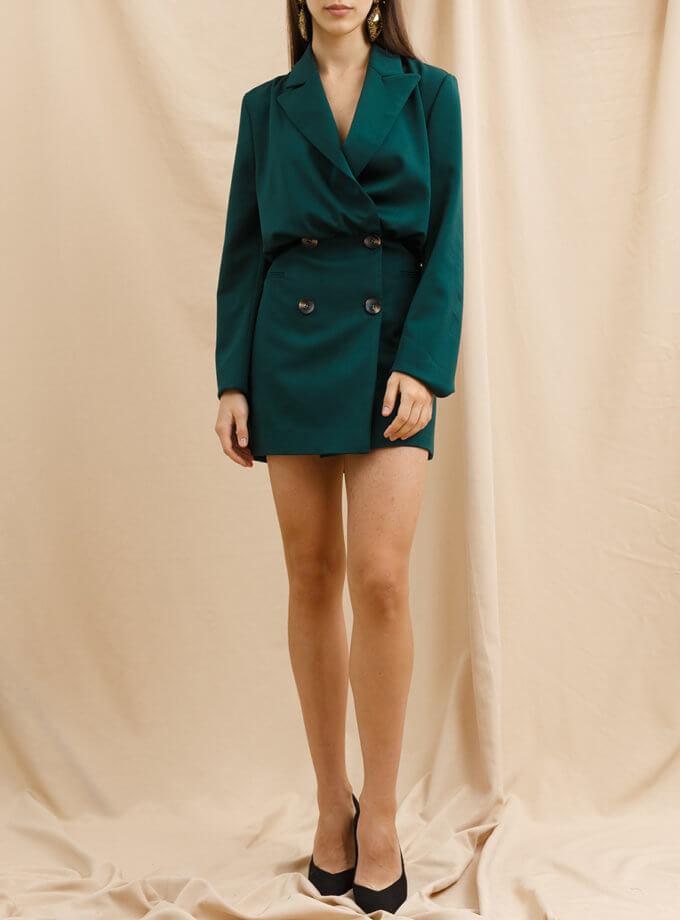 Платье-пиджак VONA_FW_21_22_66, фото 1 - в интернет магазине KAPSULA