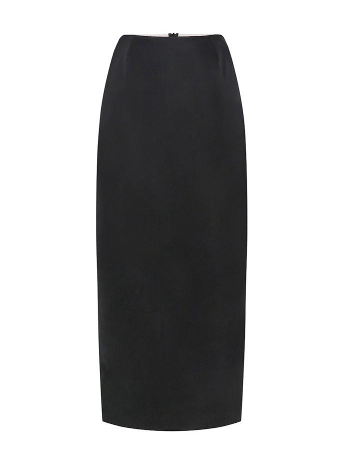 Юбка из лаковой эко-кожи SAYYA_FW1207, фото 1 - в интернет магазине KAPSULA