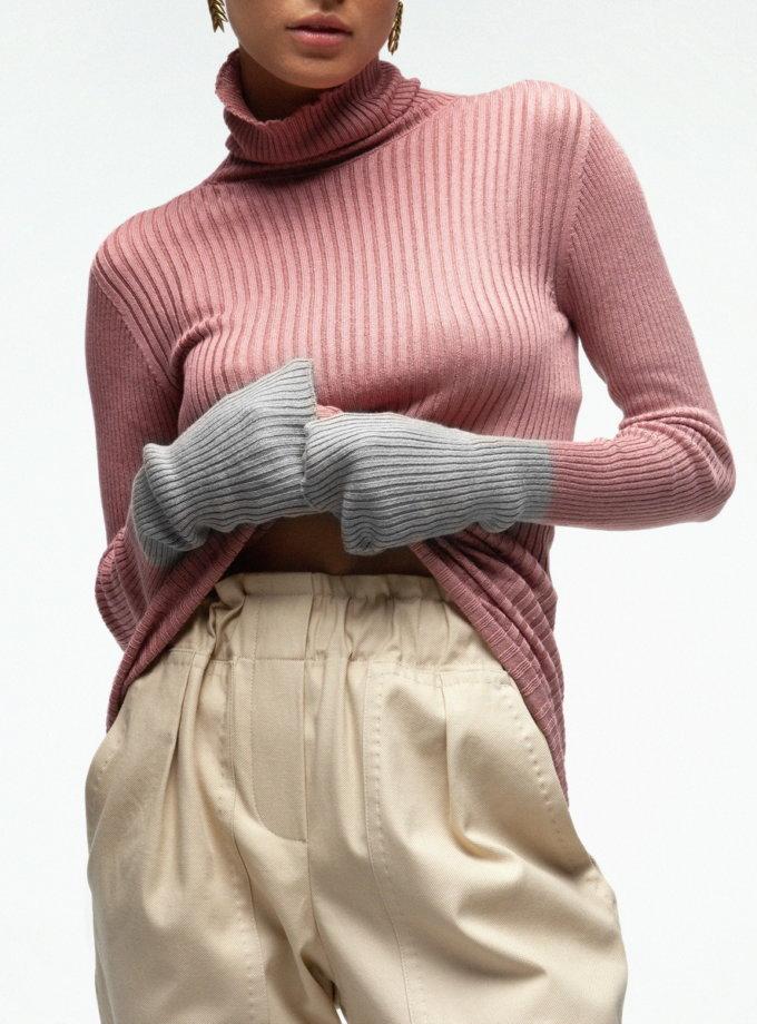 Гольф с цветными рукавами IAM_16vs14_2, фото 1 - в интернет магазине KAPSULA