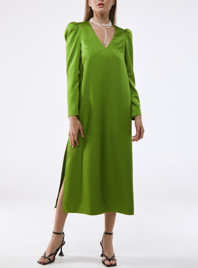 Сукня прямого крою KLSV_AKxDS_FW_2021_10, фото 1 - в интернет магазине KAPSULA