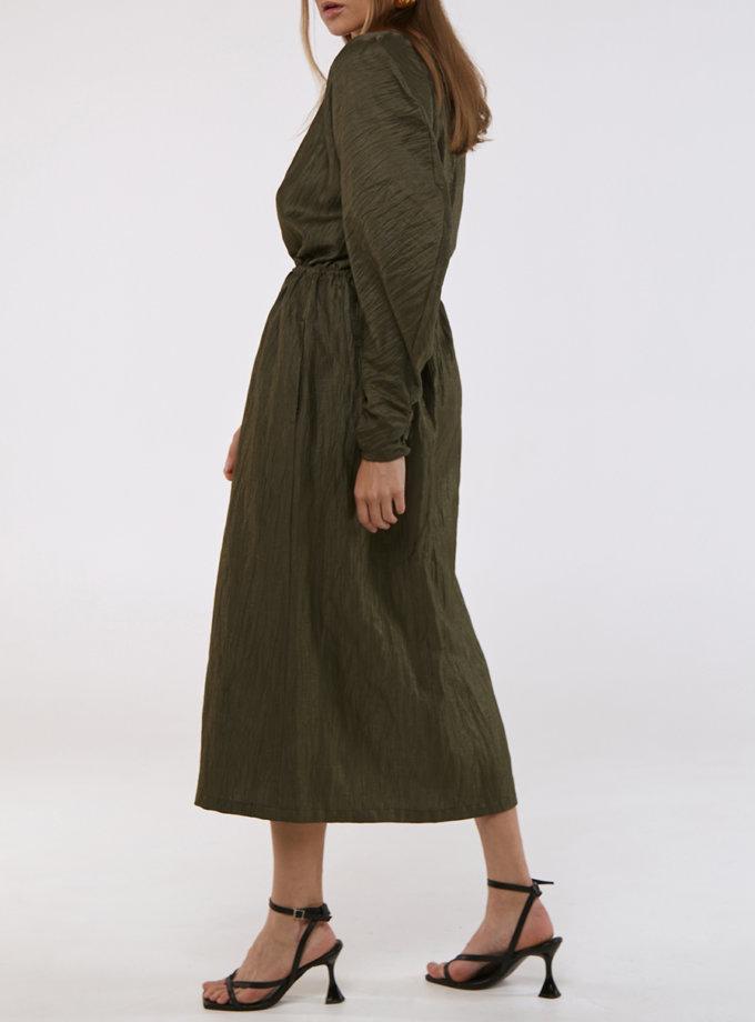 Сукня з пишними рукавами KLSV_AKxDS_FW_2021_5, фото 1 - в интернет магазине KAPSULA