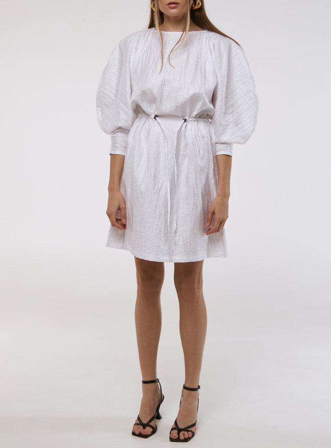 Платье с пышными рукавами KLSV_AKxDS_FW_2021_3, фото 1 - в интернет магазине KAPSULA