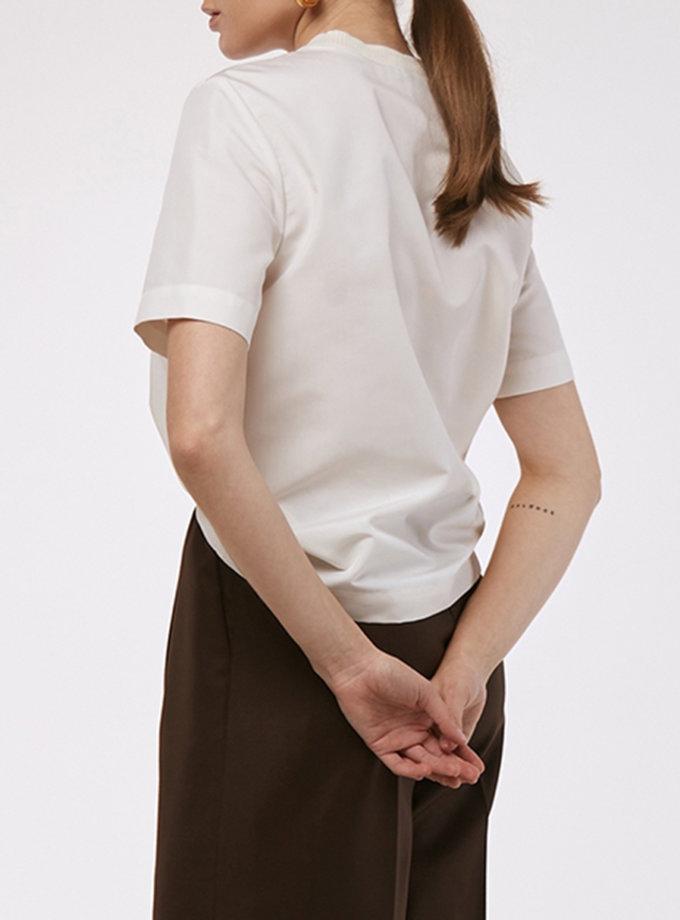 Бавовняна футболка KLSV_AKxDS_FW_2021_19, фото 1 - в интернет магазине KAPSULA