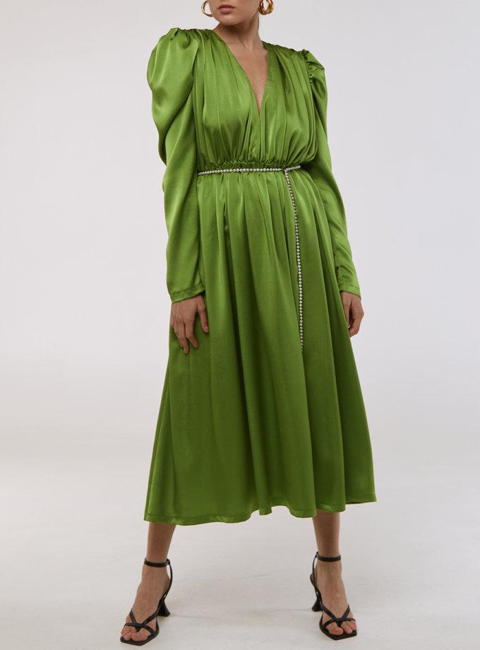 Сукня з поясом KLSV_AKxDS_FW_2021_8, фото 1 - в интернет магазине KAPSULA
