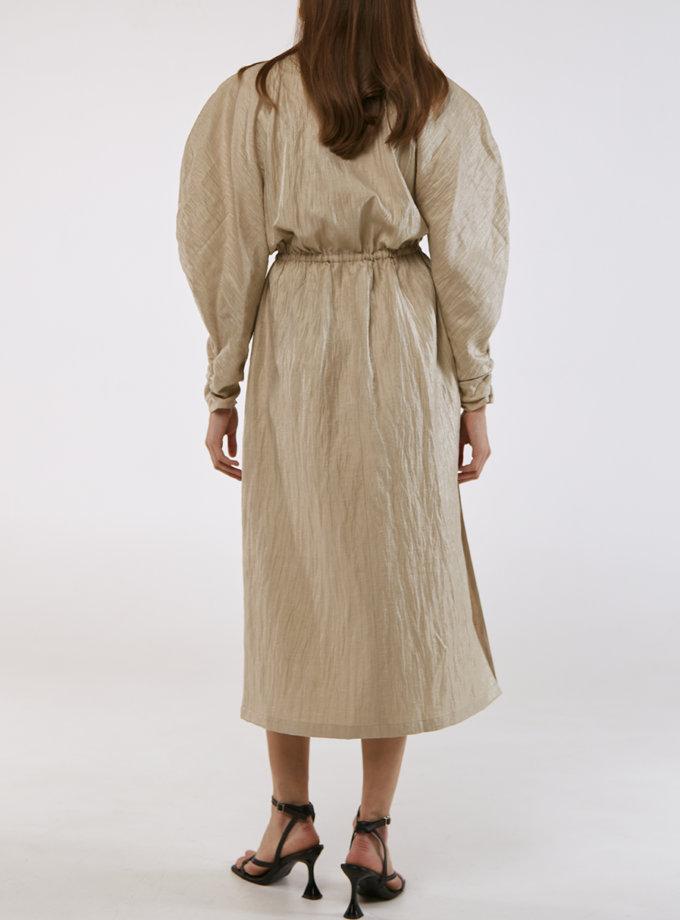 Сукня з пишними рукавами KLSV_AKxDS_FW_2021_4, фото 1 - в интернет магазине KAPSULA