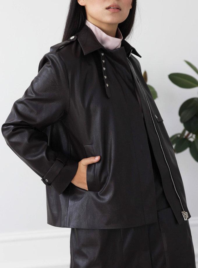 Куртка из эко-кожи LUSSO_SS21_19, фото 1 - в интернет магазине KAPSULA