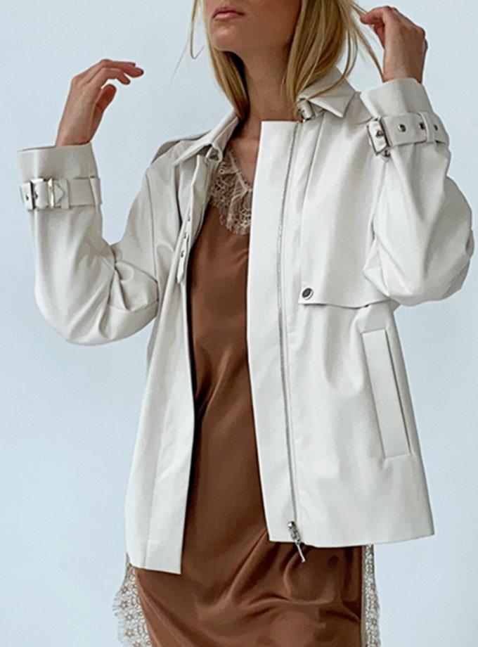 Куртка из эко-кожи LUSSO_SS21_22, фото 1 - в интернет магазине KAPSULA