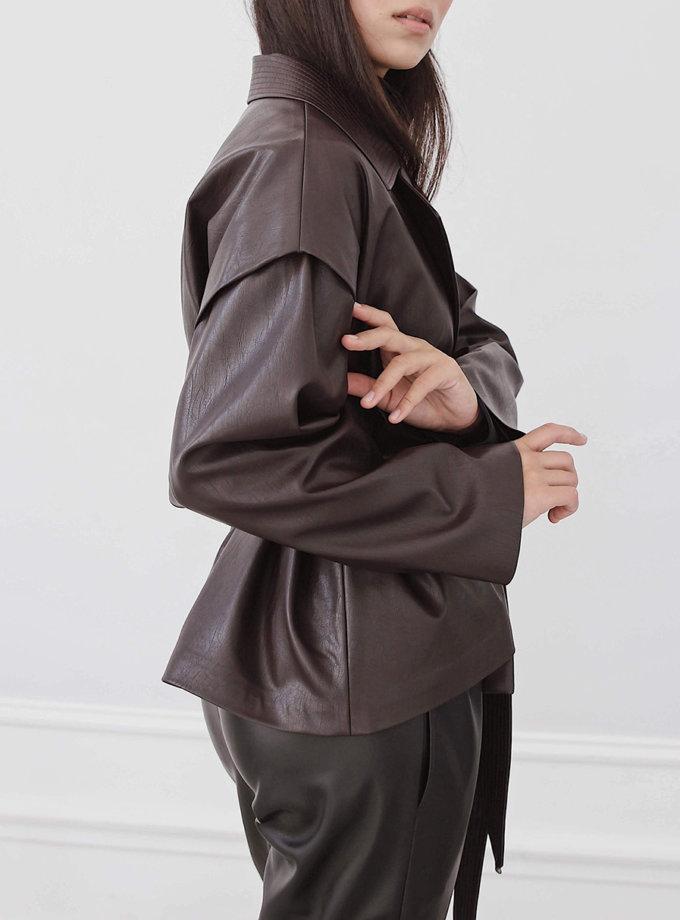 Куртка из экокожи LUSSO_SS21_23, фото 1 - в интернет магазине KAPSULA