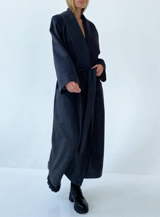 Пальто з вовни LUSSO_SS21_27, фото 1 - в интернет магазине KAPSULA