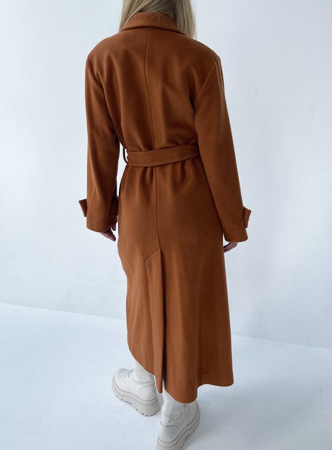 Пальто з вовни LUSSO_SS21_28, фото 1 - в интернет магазине KAPSULA