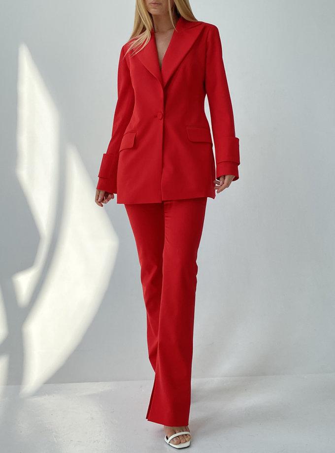 Брючный костюм LUSSO_SS21_31, фото 1 - в интернет магазине KAPSULA