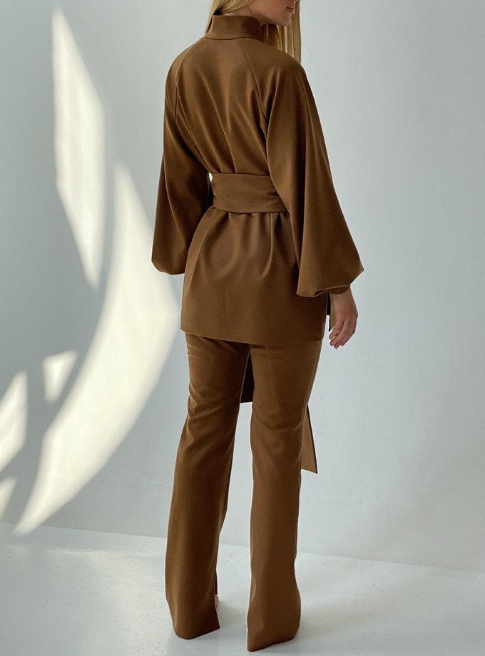 Костюм с рубашкой LUSSO_SS21_32, фото 1 - в интернет магазине KAPSULA