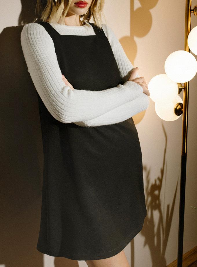 Короткое платье - сарафан MNTK_MTF2103, фото 1 - в интернет магазине KAPSULA