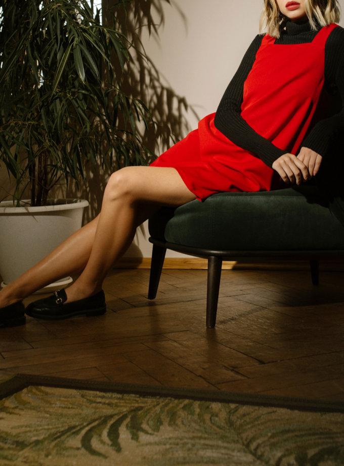 Короткое платье - сарафан MNTK_MTF2104, фото 1 - в интернет магазине KAPSULA