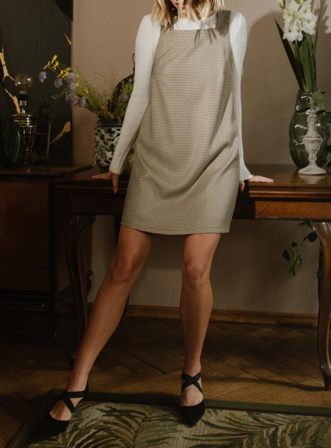 Короткое платье - сарафан MNTK_MTF2105, фото 1 - в интернет магазине KAPSULA
