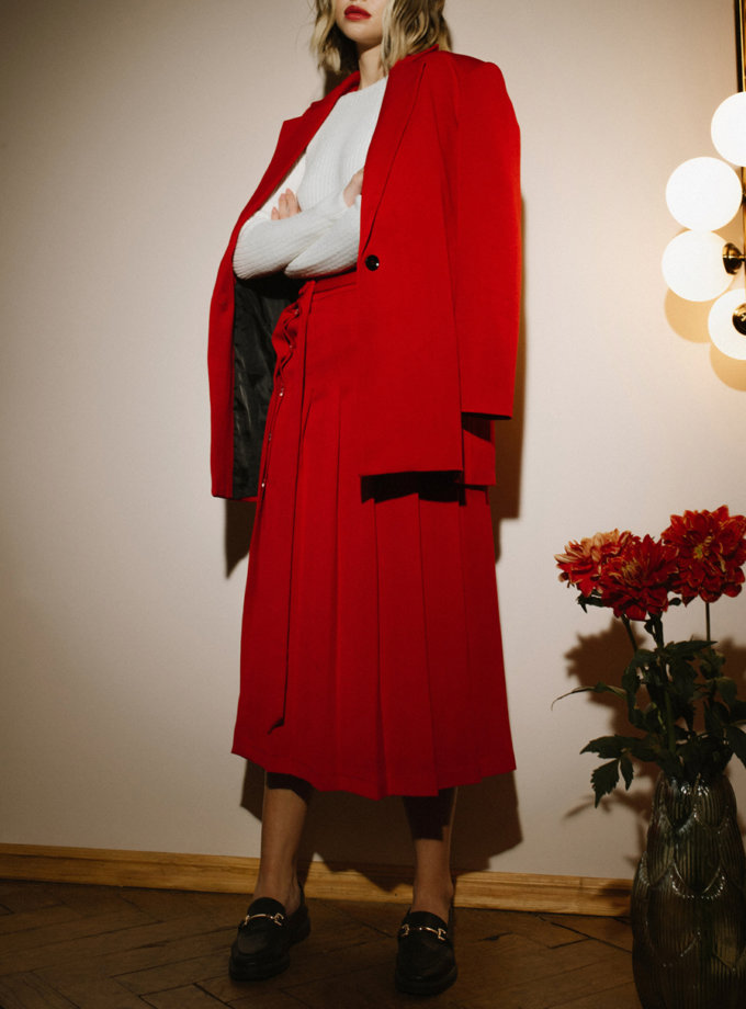 Юбка с запахом MNTK_MTF2107, фото 1 - в интернет магазине KAPSULA