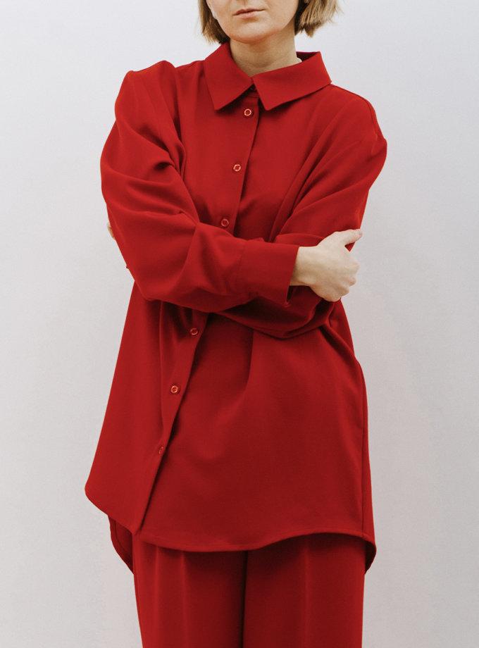 Рубашка oversize MNTK_MTF2113, фото 1 - в интернет магазине KAPSULA