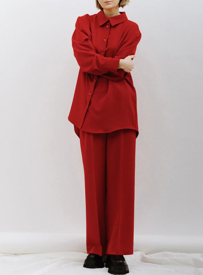 Широкие брюки палаццо MNTK_MTF2118, фото 1 - в интернет магазине KAPSULA