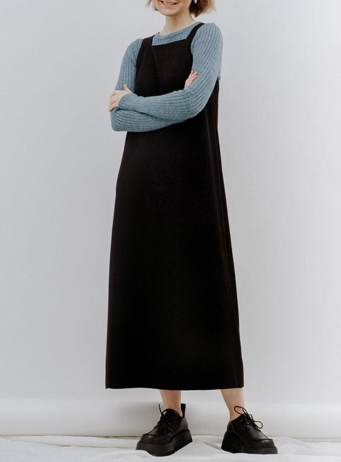 Длинное платье - сарафан MNTK_MTF2120, фото 1 - в интернет магазине KAPSULA