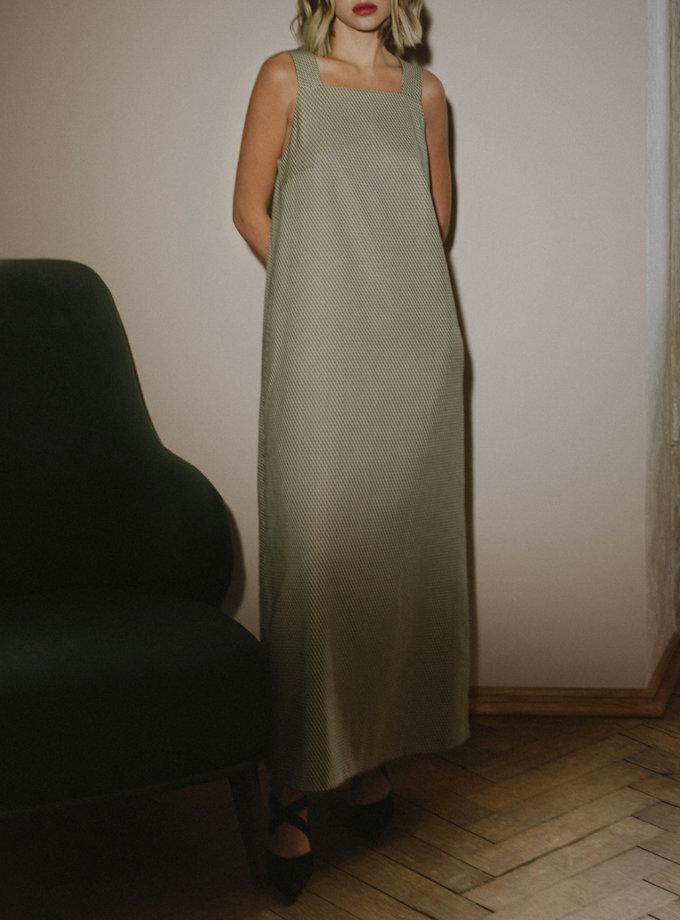 Длинное платье - сарафан MNTK_MTF2122, фото 1 - в интернет магазине KAPSULA