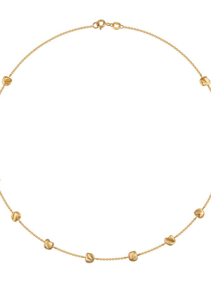 Колье из желтого золота RAJ_NRA-005, фото 1 - в интернет магазине KAPSULA