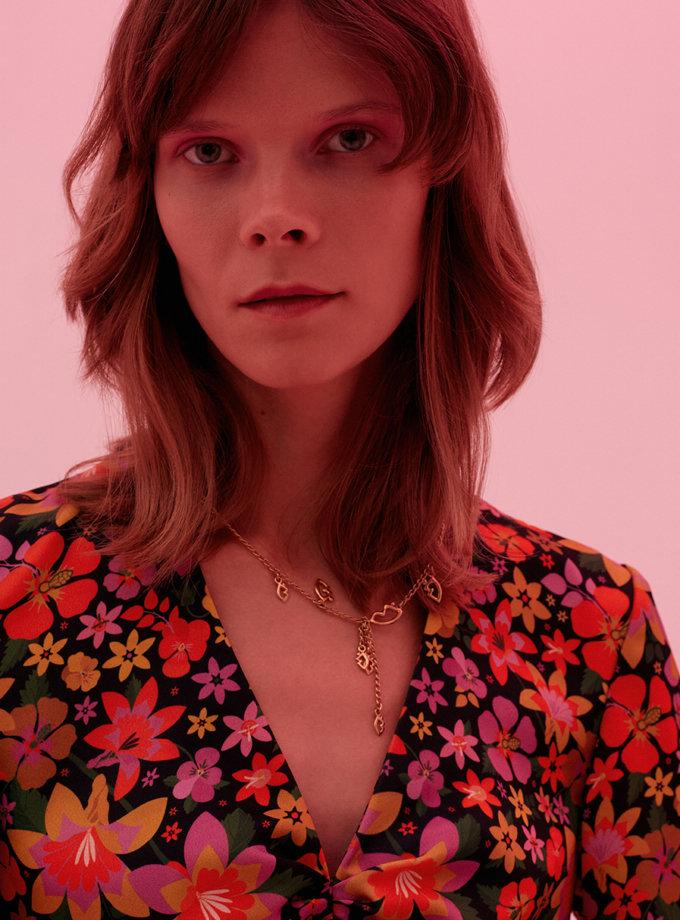 Платье в цветочный принт SAYYA_FW1212, фото 1 - в интернет магазине KAPSULA