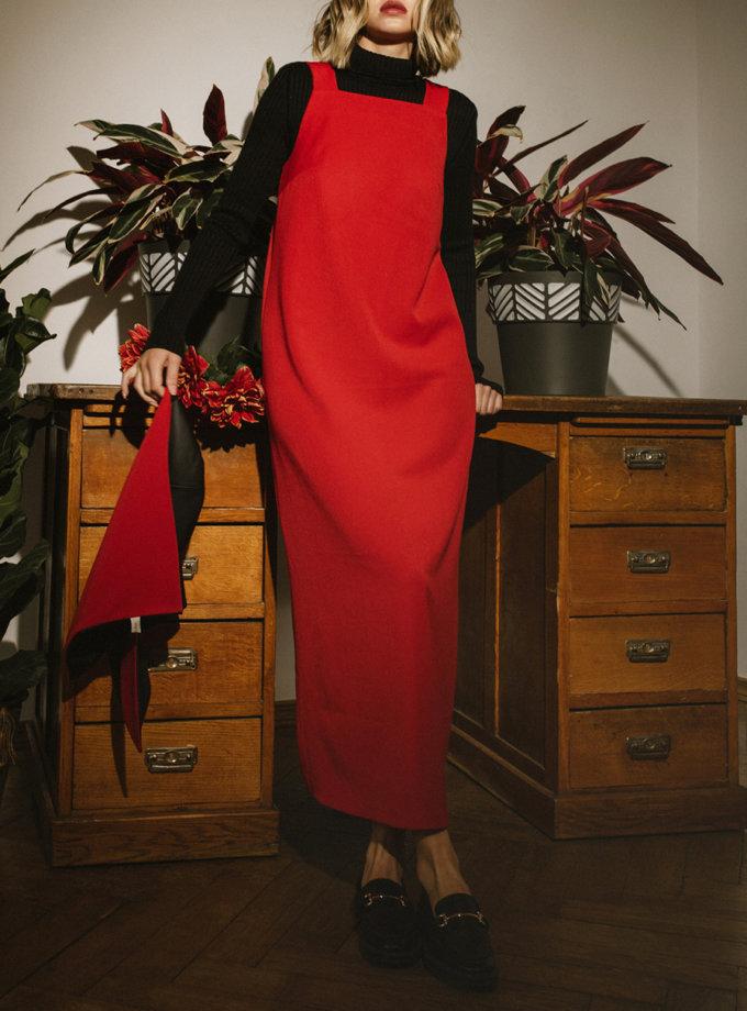 Довга сукня - сарафан MNTK_MTF2121, фото 1 - в интернет магазине KAPSULA
