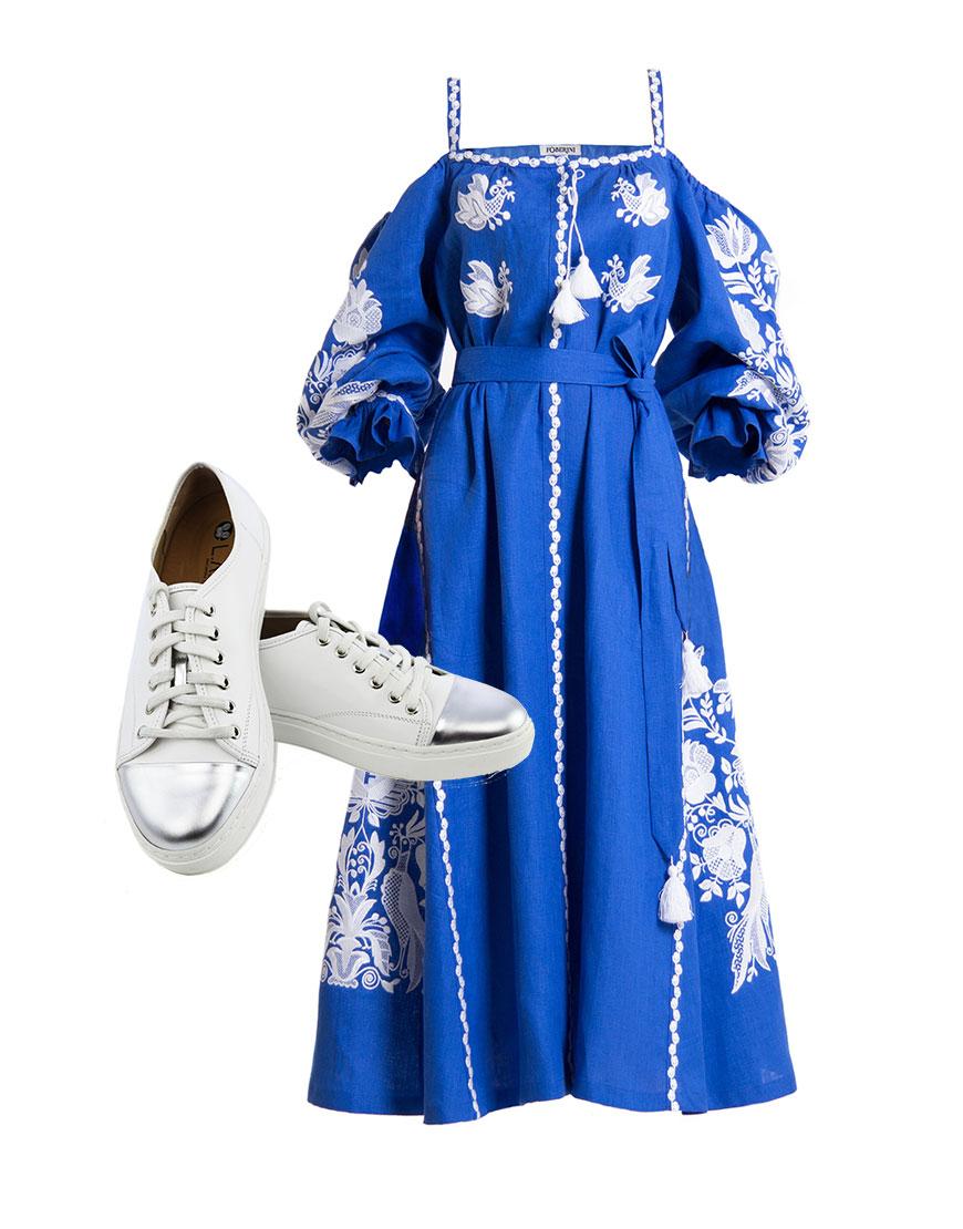 Платье с кедами – купить полностью