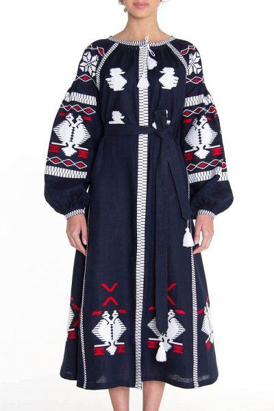 Платье-вышиванка FOBERI_128, фото 1 - в интеренет магазине KAPSULA