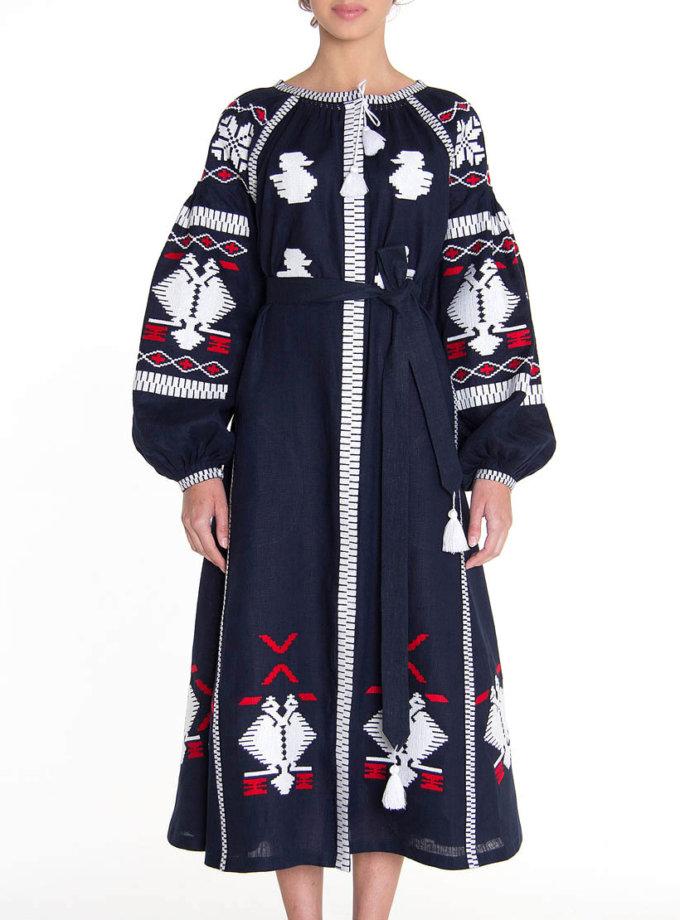 Платье-вышиванка FOBERI_01091, фото 1 - в интернет магазине KAPSULA