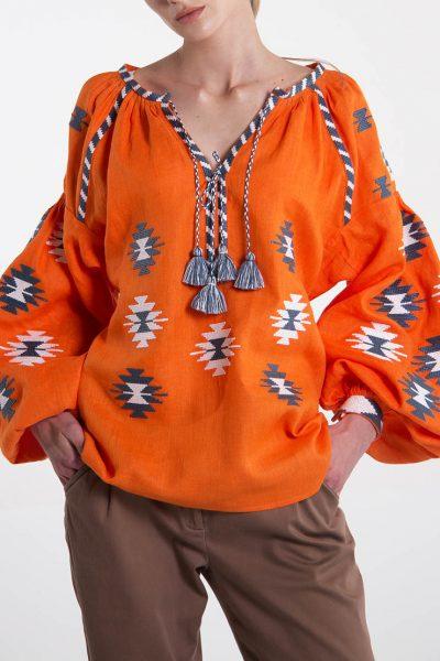 Дизайнерская вышиванка FOBERI_133, фото 1 - в интеренет магазине KAPSULA