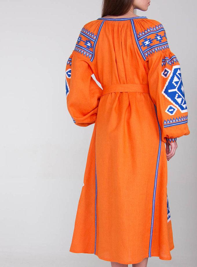 Платье-вышиванка FOBERI_01094, фото 1 - в интеренет магазине KAPSULA