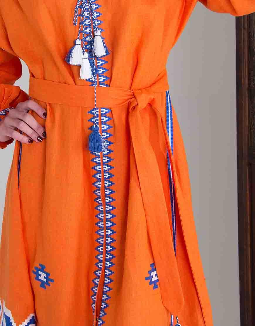 Платье-вышиванка FOBERI_01094, фото 1 - в интернет магазине KAPSULA