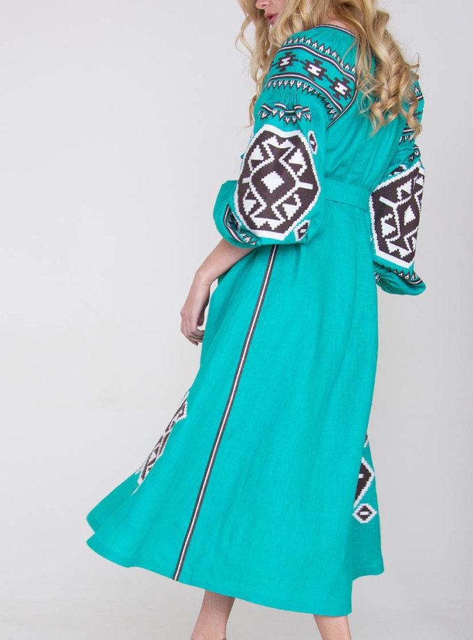 Платье-вышиванка FOBERI_01063, фото 1 - в интеренет магазине KAPSULA