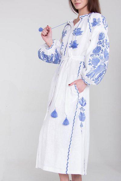 Платье-вышиванка FOBERI_135, фото 1 - в интеренет магазине KAPSULA
