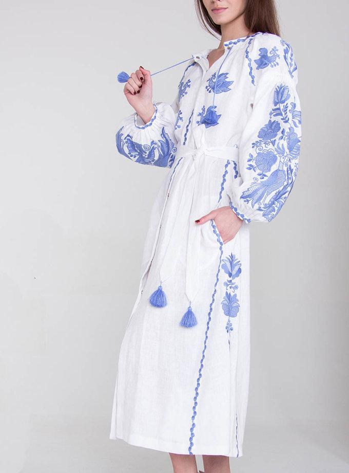 Платье-вышиванка FOBERI_01080, фото 1 - в интеренет магазине KAPSULA