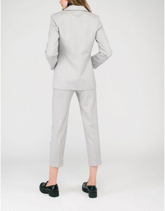 Брюки костюмные CYAN_TR#G04_outlet, фото 5 - в интеренет магазине KAPSULA