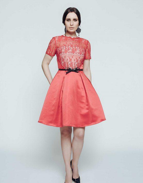 5e9b0b949ae Красное атласное платье  купить в Киеве