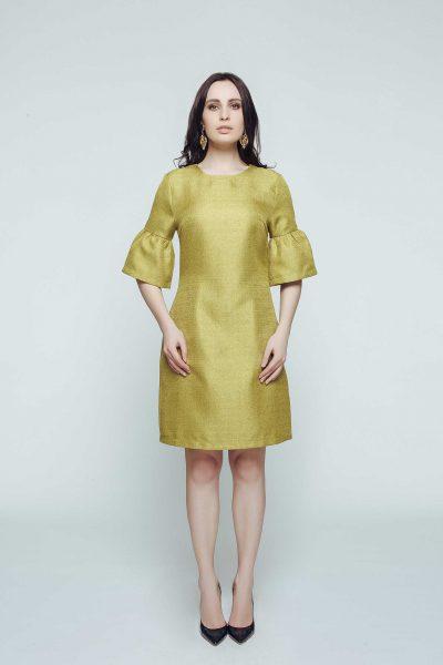 Стильное мини-платье CAVO_048, фото 1 - в интеренет магазине KAPSULA