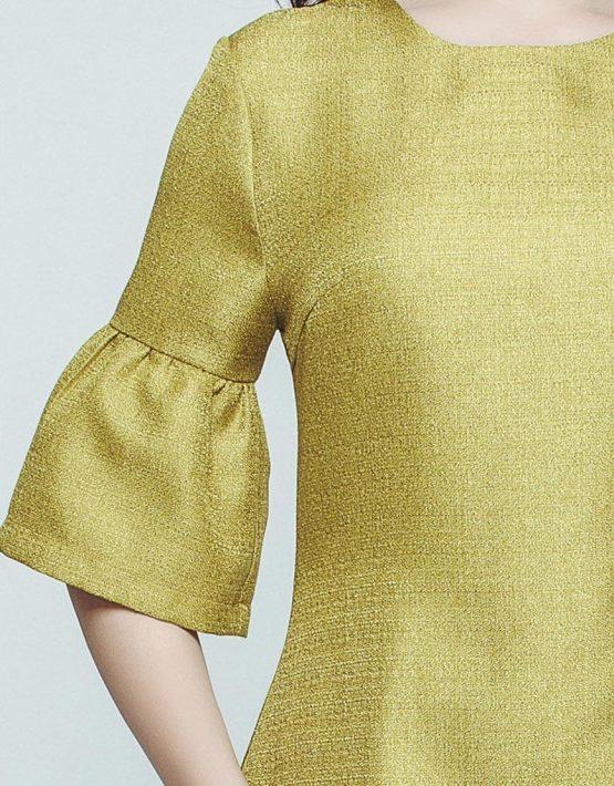 Стильное мини-платье CAVO_048, фото 3 - в интеренет магазине KAPSULA
