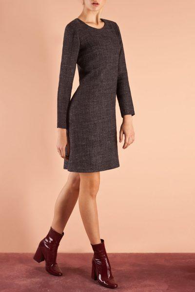 Платье приталенного силуэта SHLTZ_FW15_7, фото 1 - в интеренет магазине KAPSULA
